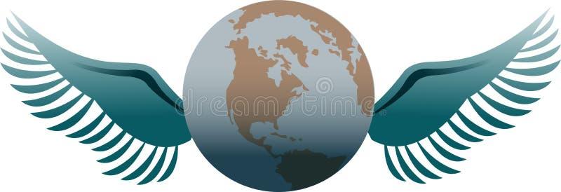 FOwereld van de vrijheid vector illustratie