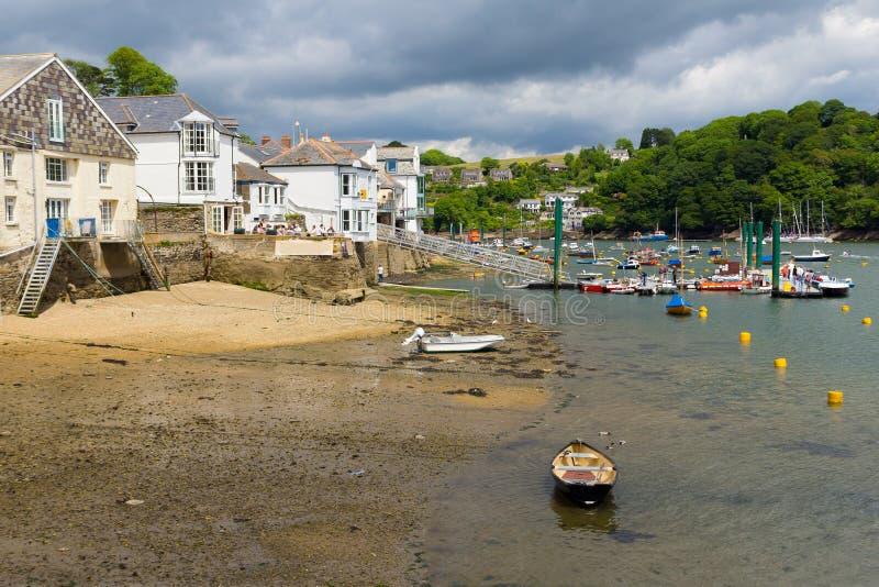 Fowey Cornwall obraz royalty free