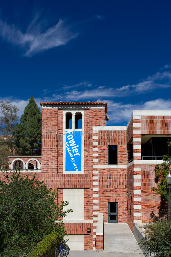 Fowler Museum an UCLA lizenzfreies stockbild