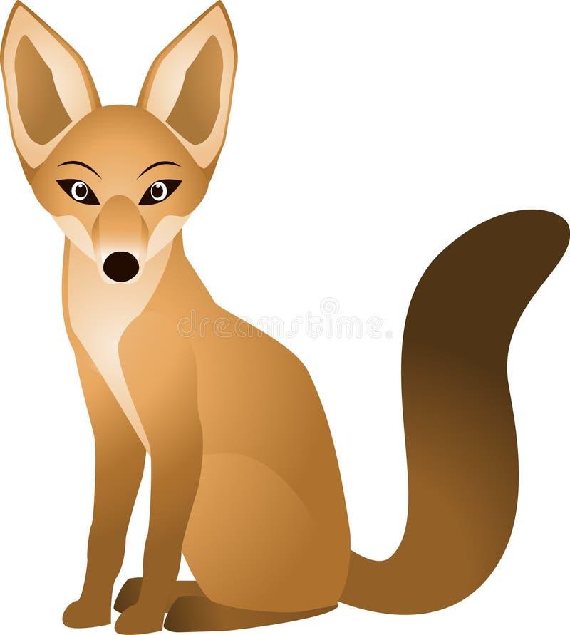 Download Fox stock vector. Image of grey, animal, nature, arctic - 14503723