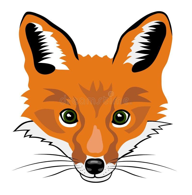 Fox lizenzfreie abbildung