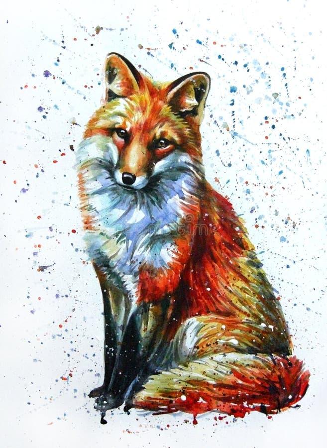 Fox 2 illustrazione vettoriale