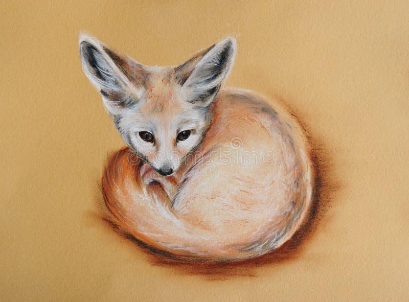 Fox de Fennec illustration de vecteur