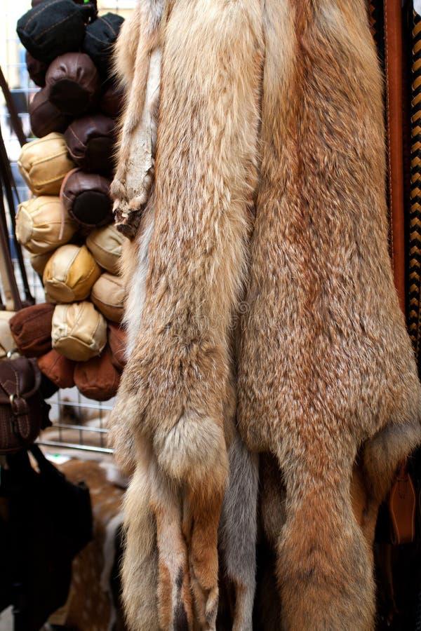 Fox fur stock photography