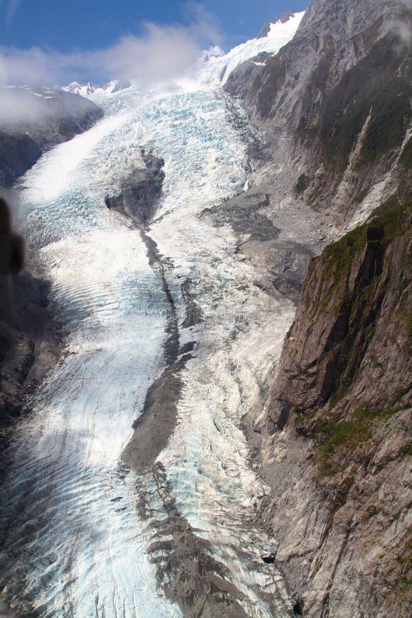 Fox Glacier stock photo