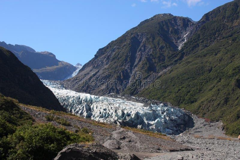 Fox Glacier royalty free stock image