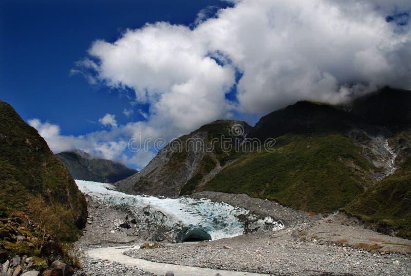 Fox-Gletscher stockfotos