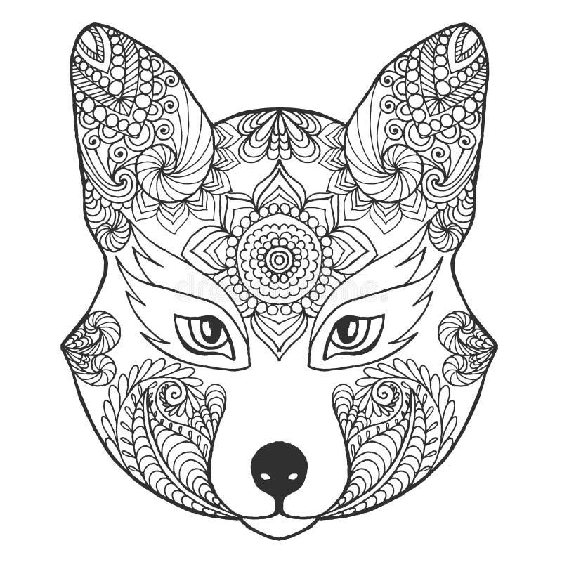 Fox-Kopf vektor abbildung