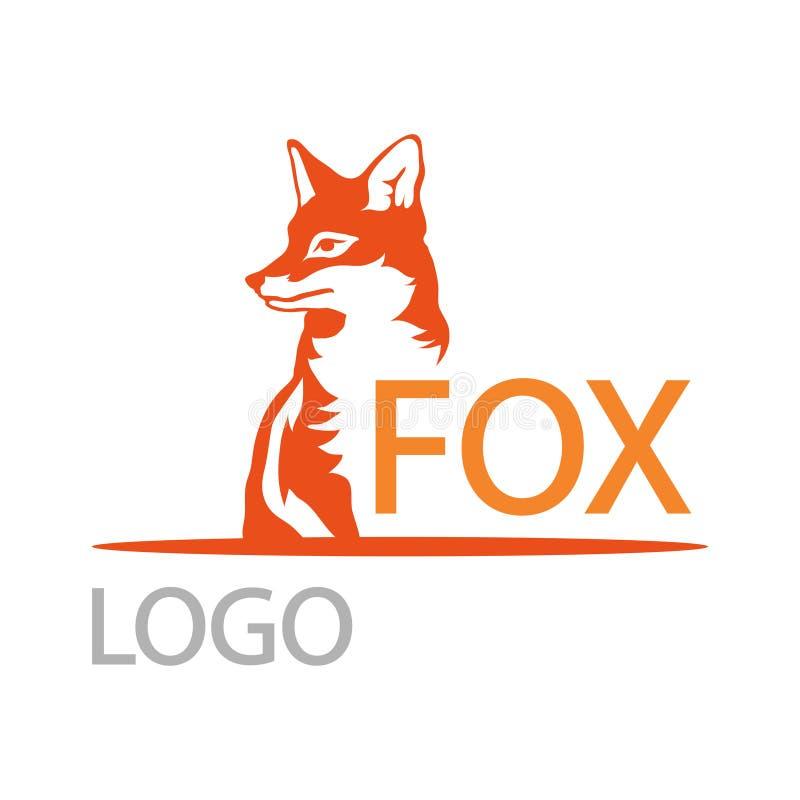 Fox logo royalty ilustracja