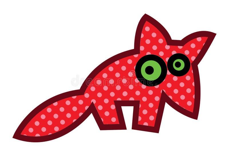 Fox rojo stock de ilustración