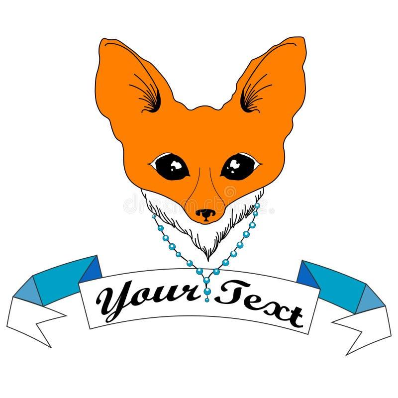 Fox rojo astuto foto de archivo