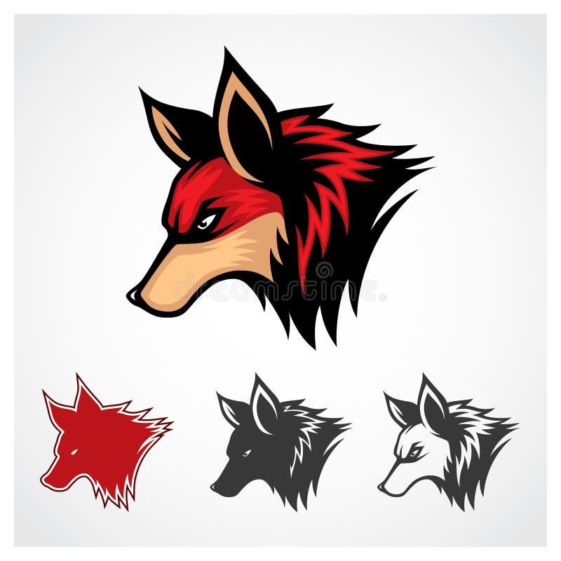 Fox rouge de vecteur illustration libre de droits
