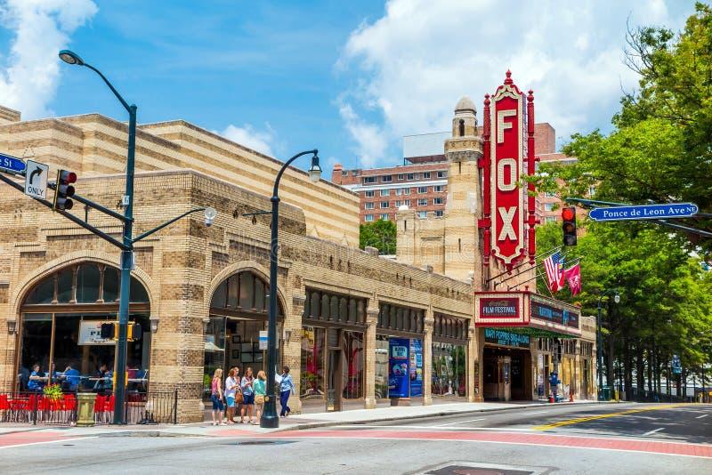 Fox teatro 4 agosto 2014 a Atlanta immagine stock