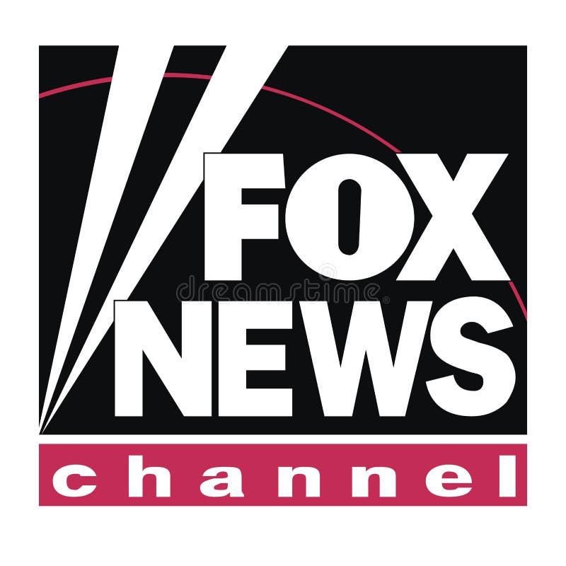 Fox wiadomości logo wiadomość royalty ilustracja