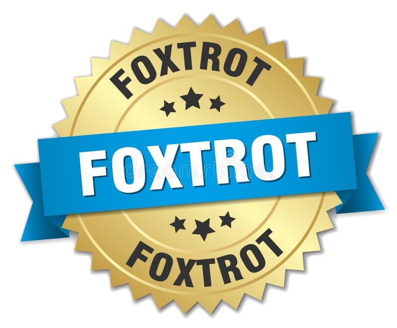 foxtrot royalty-vrije illustratie