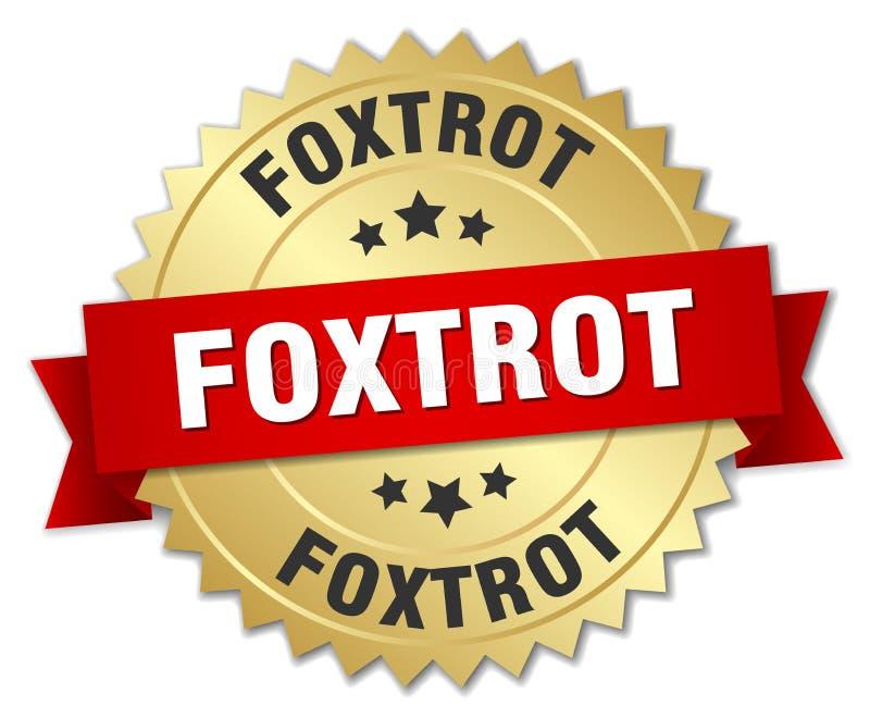 foxtrot vector illustratie