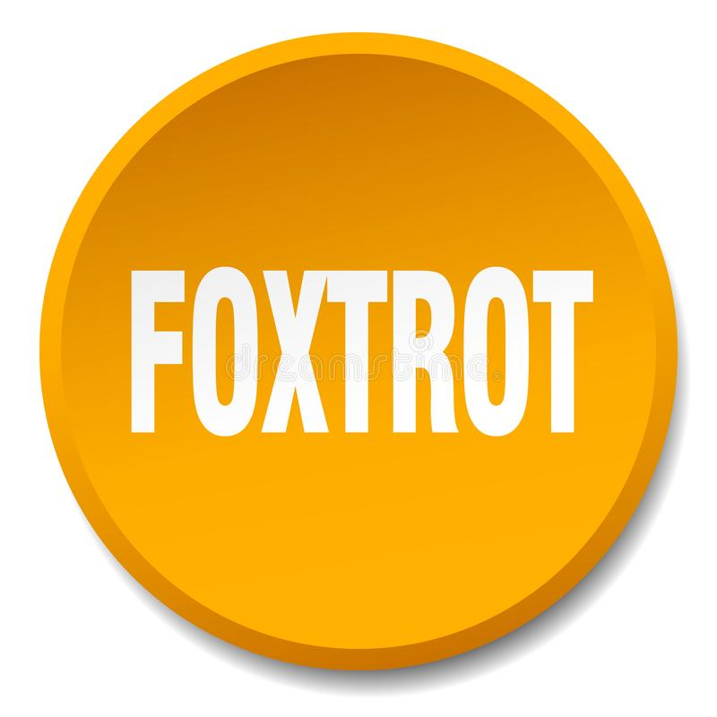 foxtrot knoop stock illustratie