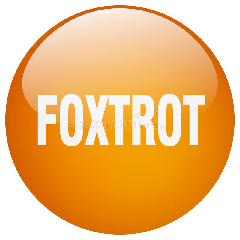 foxtrot knoop vector illustratie