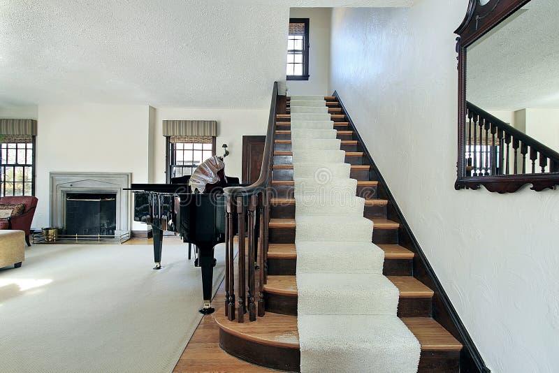 foyeru podmiejski domowy obraz stock