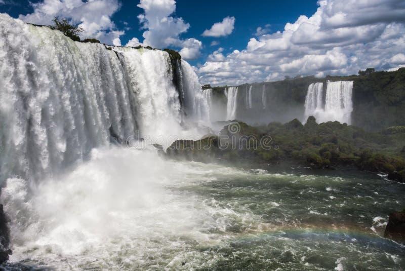 Foz делает Iguassu Аргентину Бразилию стоковое фото rf