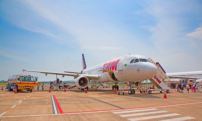 Foz de Iguazu Airport photos libres de droits