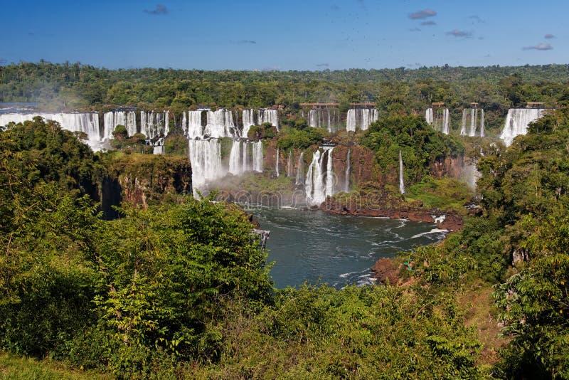 Foz hace Iguacu imagen de archivo