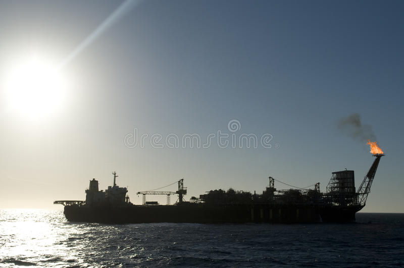 Download FPSO oil production rig stock image. Image of global - 11449939