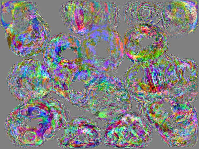 främmande celler vektor illustrationer