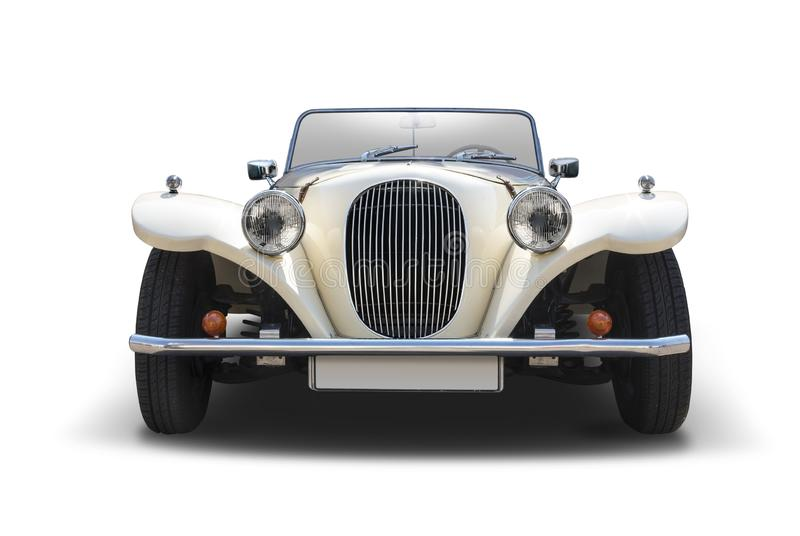 Främre sikt för panterKallista bil royaltyfri bild