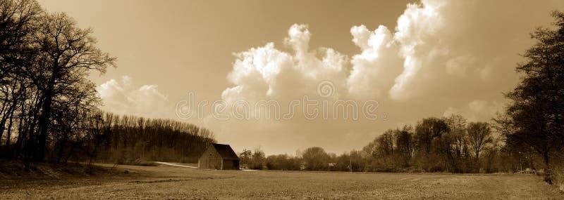Fränkische Landschaft stockfoto