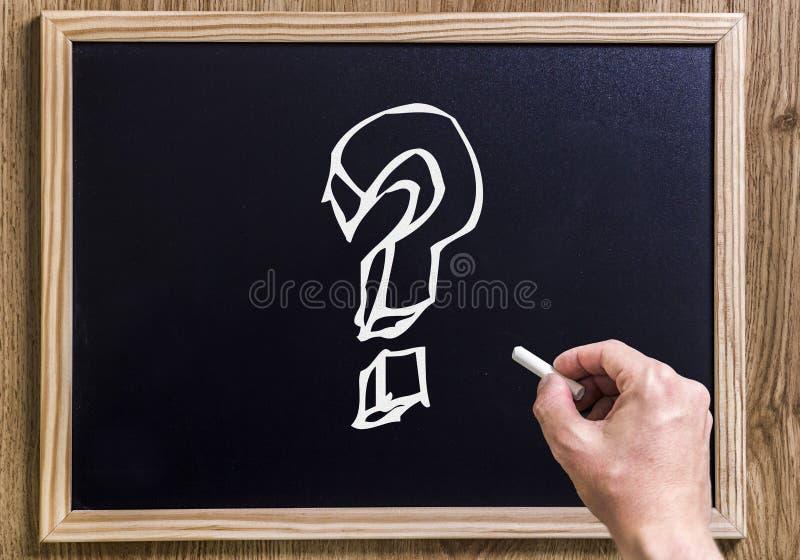 frågor royaltyfria bilder