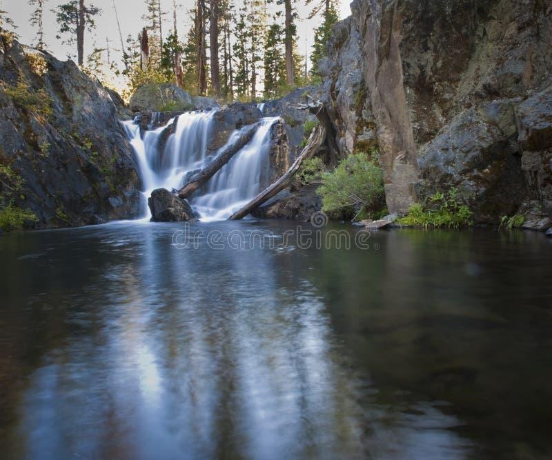 Från dammet till vattenfallet royaltyfri bild