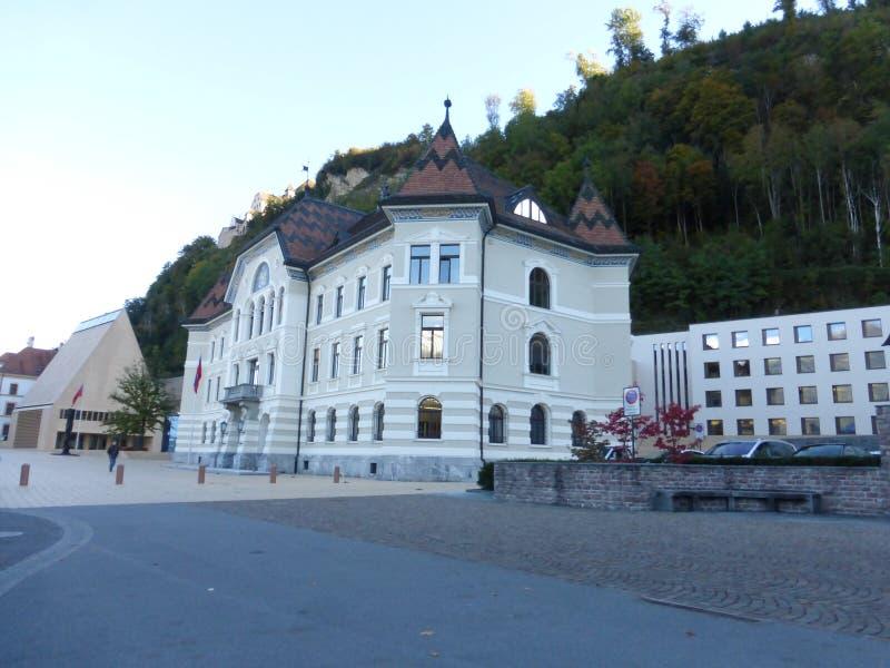 Från Liechtenstein härligt land royaltyfri foto