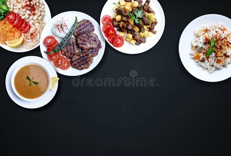 Från turkisk kokkonst fotografering för bildbyråer