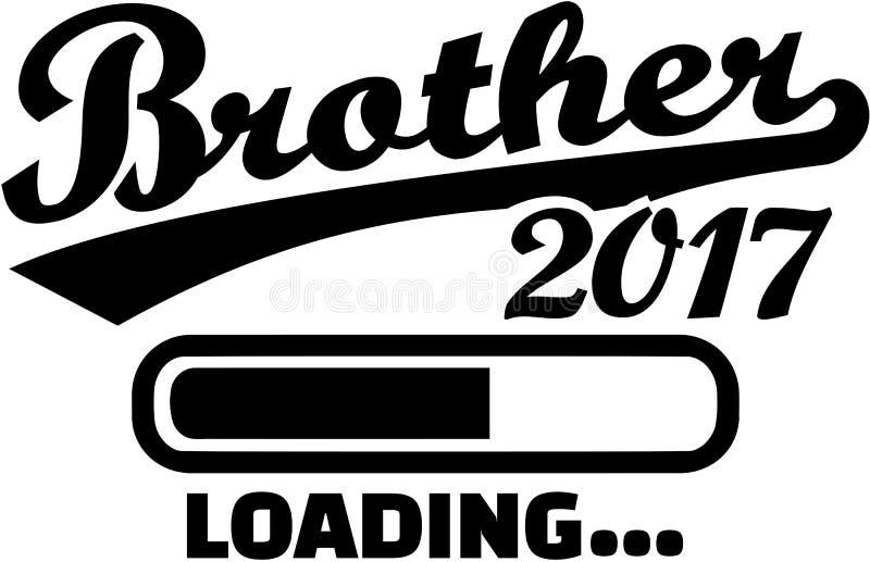 Frère 2017 - barre de chargement illustration de vecteur