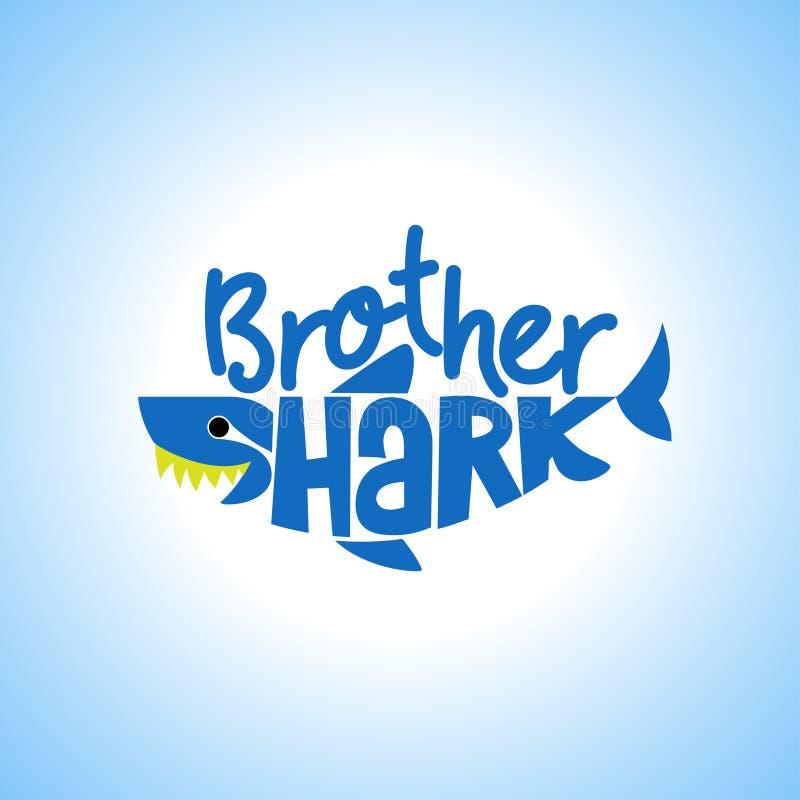 Frère Shark Doo Doo Doo illustration libre de droits