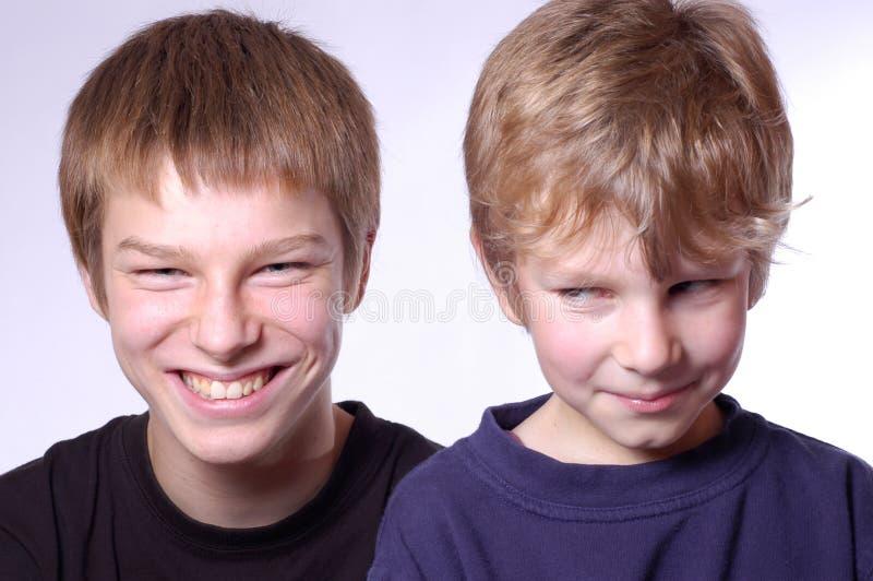 Frères photos stock