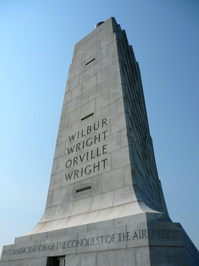 Frères de Wright commémoratifs image libre de droits