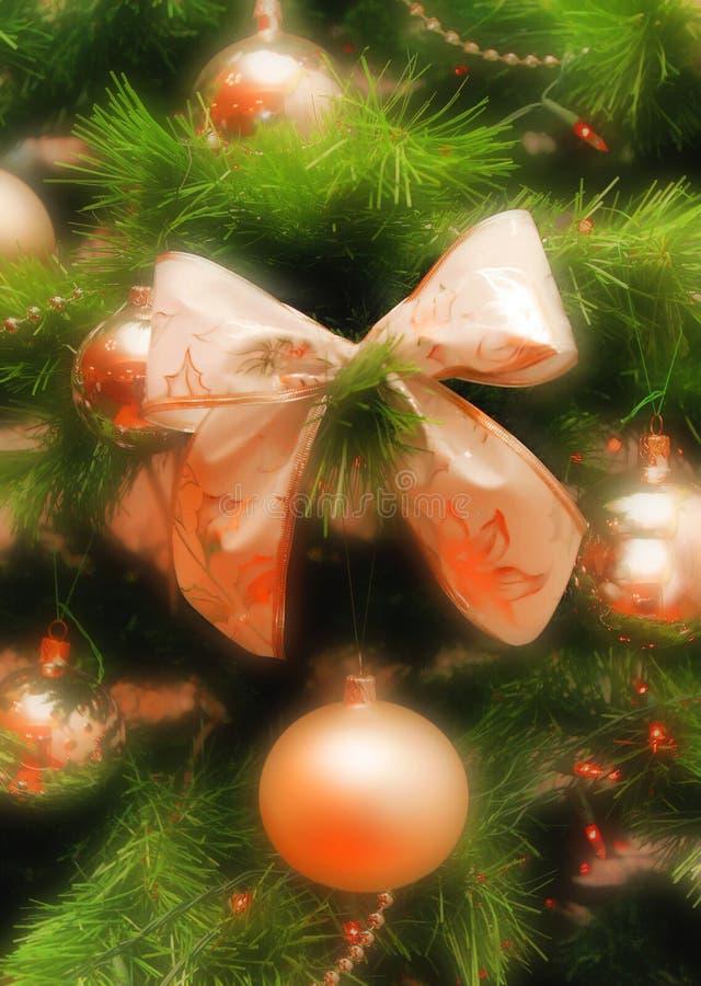 Fröhliche Christmasl Postkarte lizenzfreies stockbild