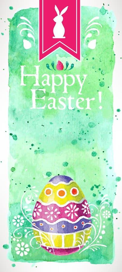 Fröhliche Ostern! (+EPS 10) lizenzfreies stockbild