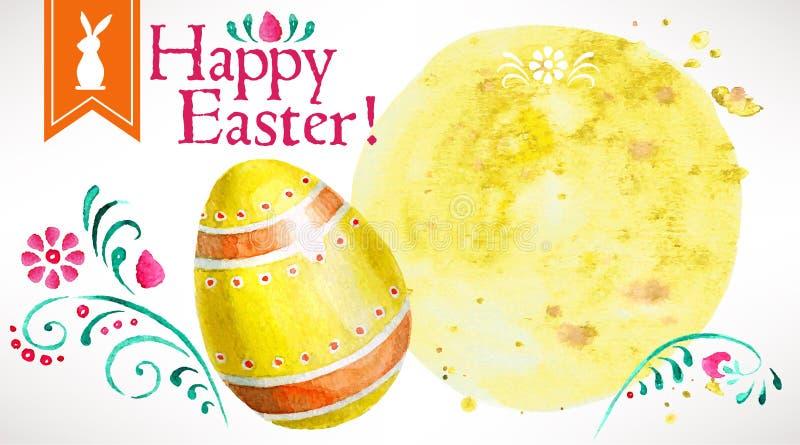 Fröhliche Ostern! (+EPS 10) stockbilder