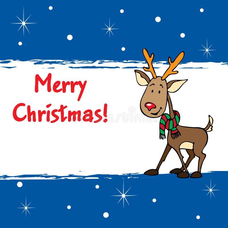 Fröhliches Weihnachten! stock abbildung
