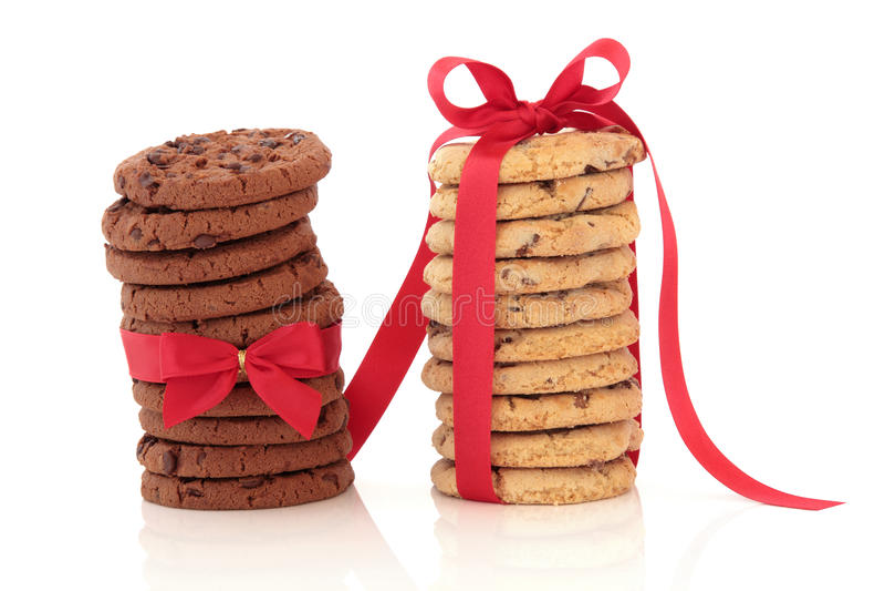 fröjd för chipchokladkaka arkivfoton