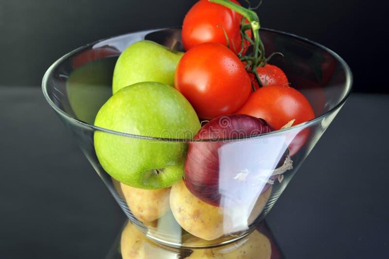 Download Früchte stockfoto. Bild von kartoffel, tomate, zwiebel - 12200124