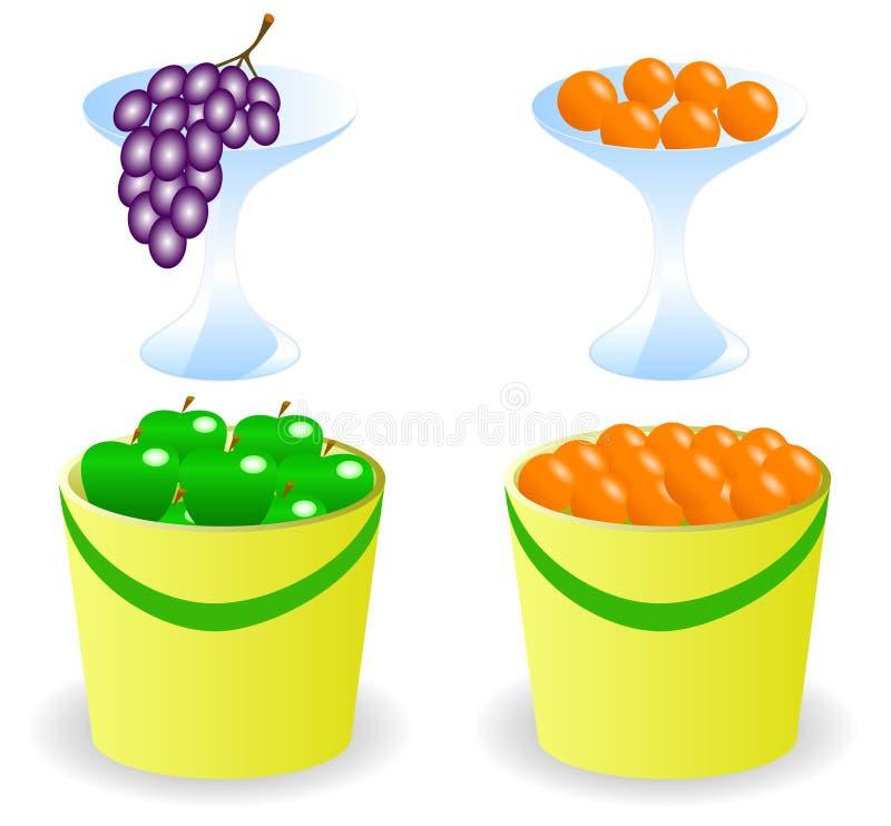 Download Früchte stock abbildung. Illustration von trauben, köstlich - 9091756
