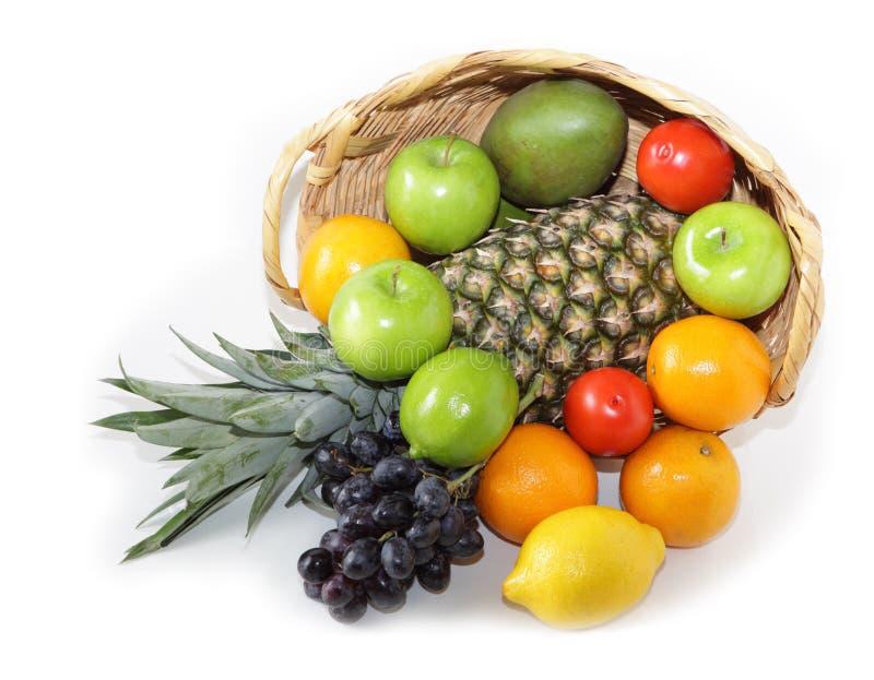 Download Früchte stockfoto. Bild von tropisch, haufen, grün, getrennt - 9096446