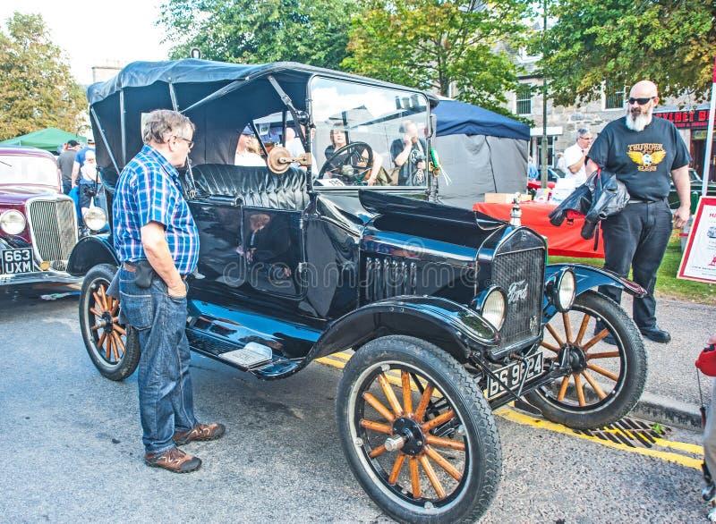 Früh offener Tourer 1920 Fords lizenzfreies stockbild
