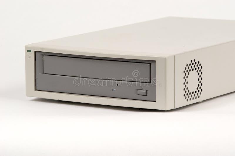 Früher Externer CD-Player Stockfotografie