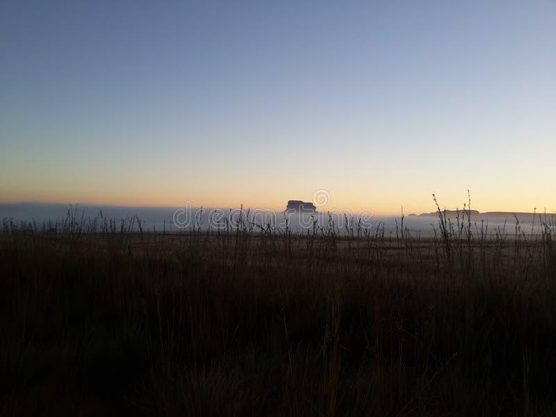 Früher Morgen nahe Clarence lizenzfreie stockfotografie