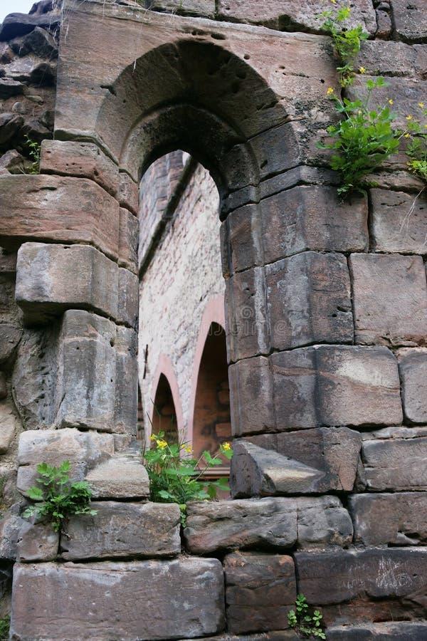 Frühes gotisches Fenster lizenzfreies stockbild